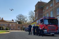 Navigation Fire engine and Drone